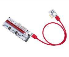 1-Pack LATTCURE PCIe PCI-E 16x to 1x Powered Riser Adapter Card w/ 60cm USB 3.0