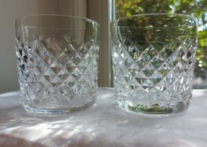 Waterford Alana Pair of Whisky Tumblers/Glasses 8.5cm