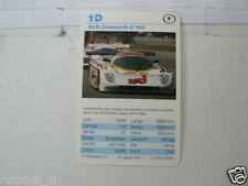53-RACING CARS 1 D ALD-COSWORTH C 190   KWARTET KAART,CARD