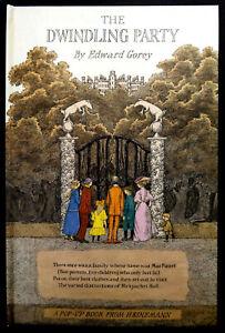 The Dwindling Party Pop-Up Book by Edward Gorey (HB) 1982, Heinemann - VGC