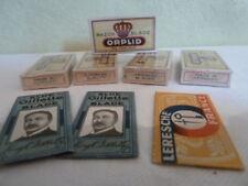 LOT lames de rasoir vintage gilette leresche orplid Blade Razor