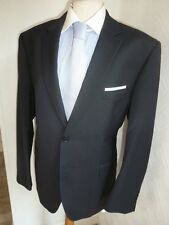 MENS TED BAKER ELEVATED BLACK SUMMER PROM WOOL SUIT JACKET 42 S WAIST 36 LEG 27