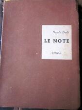 Giolli Nando - Le note [Guanda, Modena 1943]