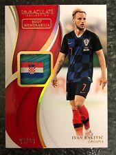 New listing 2018-19 Immaculate Ivan Rakitic 4 Color Boot Relic Gold 6/10 Croatia Flag