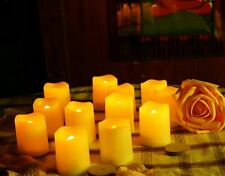 Clearance sale -5x Flickering Pillar LED Candle Light w/ Timer For Wedding Party