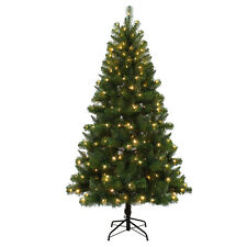 6.5' Artificial Christmas Tree with 250 Color Changing Led Lights