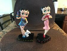 The Danbury Mint Betty Boop Sings the Blues & Hugs Kisses Figurines Height 7""