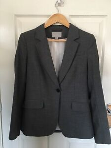 New Womens Warehouse 2 Piece Grey Suit