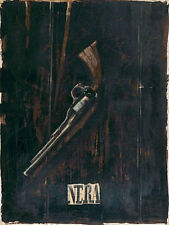 Ivano Berlendis: NERA COMPLETO - 60x80 Immagine Muro Immagine pistola