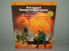 Ad&D 1st Edition Module - C3 The Lost Island Of Castanamir (Rare and Vg+!)