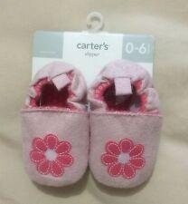 Nwt Carter's slipper Girls 0-6 months