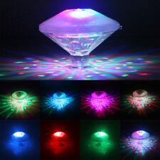 Underwater Led Disco Lights Glow Show Swimming Pool Hot Tub Spa Flashing Lamp