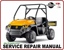 JCB 4x4 Groundhog Utility Vehicle Service Repair Manual CD