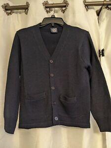 U.S. Polo Assn. School Uniform Boys' Sweater Classic Navy, Size Medium