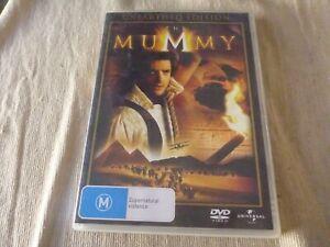 The Mummy - Unearthed Edition (DVD, 2008) Region 4  Brendan Fraser  Rachel Weisz
