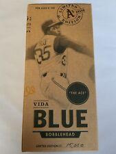 Oakland A's Vida Blue Bobble Bobblehead New No 35 1 of 15,000 The Ace