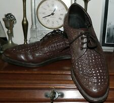 VINTAGE Power Shoe Hand Made High Quality 1950s Retro Leather Biltrite Broges