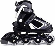 New listing Nattork Adjustable Inline Skates for Kids with Light Up Wheel Outdoor & Indoo...