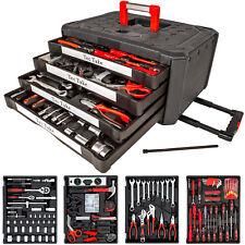 200 tlg Werkzeugkoffer Werkzeugkasten Werkzeugbox Werkzeugkiste mit 4 Schubladen