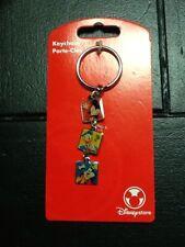 Disney Store Mickey Mouse, Donald Duck, Goofy Keychain NEW