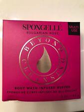Spongelle Beyond Cleansing Boxed Sponge Bulgarian Rose Brand New