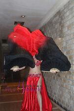 Various designs, 1PIECE right hand 1.5m*0.9m belly dance silk fan veil+bag!