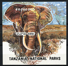(W0177A) TANZANIA, U/M (MNH), 1993 MINIATURE SHEET ELEPHANT