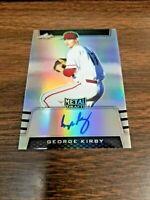 GEORGE KIRBY 2019 Leaf METAL DRAFT CARD BA-GK1 SEATTLE(ROOKIE AUTOGRAPH) SP #/50