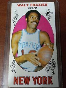 """1969-70 Topps Basketball Walt """"Clyde"""" Frazier #98 Rookie RC Knicks HOF"""