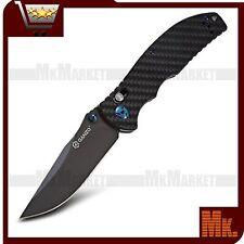 Authentic Knife GANZO G7503-CF / G750-3 | 440C | Carbon Fiber | Axis Lock