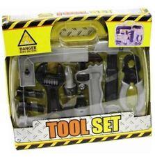 Costruttori edili insieme di strumenti in breve caso bambini giocattolo attività PLAYSET 013714