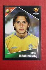 Panini EURO 2004 N. 197 SVERIGE IBRAHIMOVIC  NEW With BLACK BACK TOPMINT!!
