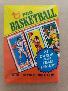 1980-81 Topps Basketball Wax Pack