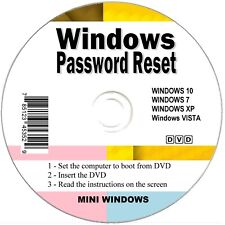 Windows Password Recovery CD Recovery Remover Reset forgotten Admin Boot Disc