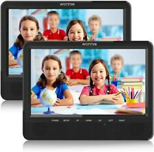 WONNIE 9'' Dual Screen Portable DVD Player for Car with Built-in 5 Hours...