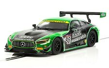 Scalextric C3942 Mercedes AMG GT3 ABBA Racing, #88 1/32 Slot Car *DPR*