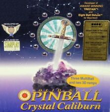 CRYSTAL CALIBURN PINBALL +1Clk Windows 10 8 7 Vista XP Install