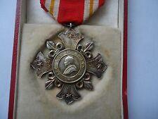 Vatican WW1 Medal Pro Ecclesia Pontifice 1Cl Cross 1888 Pope Leo XIII+BOX