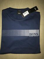 Hugo Boss T Shirt Men's Size XL Indigo Blue BNWT NEW *black Label*