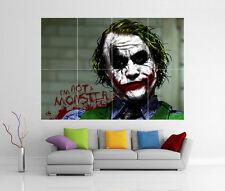 The dark knight joker batman géant Mur Art Image Imprimé Poster G33