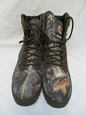 MEN'S CAMOUFLAGE BRAHMA THINSULATE HUNTING WATERPROOF BOOTS SIZE 9.5 WORN ONCE!
