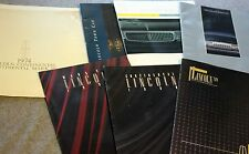 LINCOLN CONTINENTAL Town Car PUBLICATION LOT 1974 1990s Mark VII FORD Motor CAR