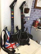 Lot Of 2 Guitar Hero Kramer Striker Wireless Guitars PS2 PlayStation