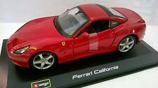 BURAGO RACE & PLAY 1:32 AUTO DIE CAST FERRARI CALIFORNIA ROSSO  ART 18-46000