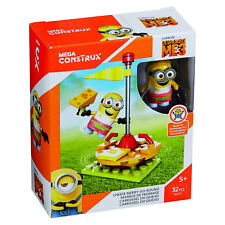 Despicable Me 3 Minions Mega Construx Cheese Merry Go Round Building Set