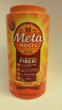 MetaMUCIL 4 in 1 MultiHealth FIBER, Real Sugar, 130 Tablespoons 55 oz / 3.4 lbs