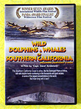 Wild Dolphins & Whales of Southern California ~ New DVD Movie ~ Sealed Video