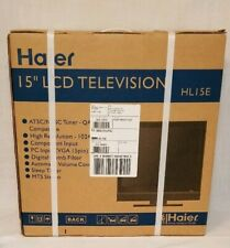 "Haier 15"" LCD Flat Screen TV Television HL15E Factory Sealed, NIB New"