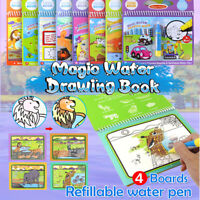Animals Magic Doodle Painting Board Coloring Pamphlet Water Drawing Book