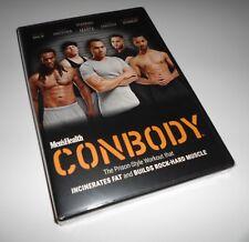 Men's Health ConBody Workout Fitness Coss Marte Prison Style Con Body (DVD NEW)